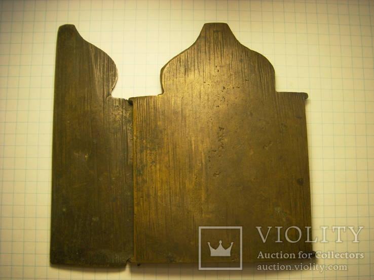 Складень:  Антипа, Флор и Лавр, избранные святые (не полный), фото №4