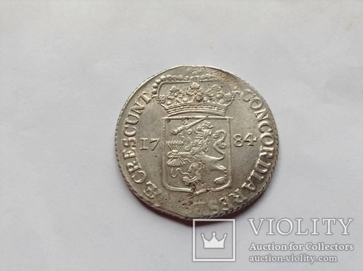 Нидерланды дукат 1784г