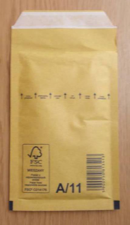 Бандерольный конверт Airpoc, 100х160, А11. 100 шт
