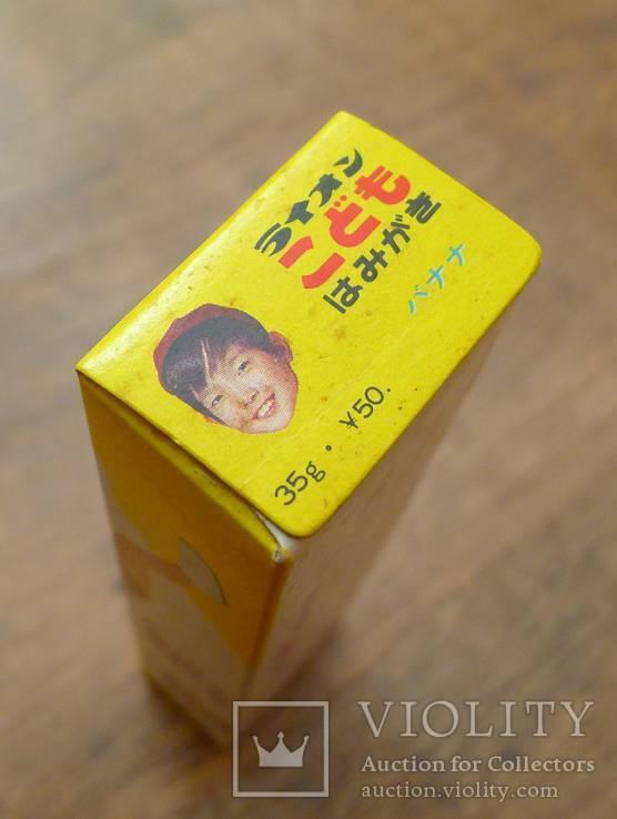 Японская винтажная зубная паста 70-х гг в родной коробке. Зубная паста полный тюбик., фото №9