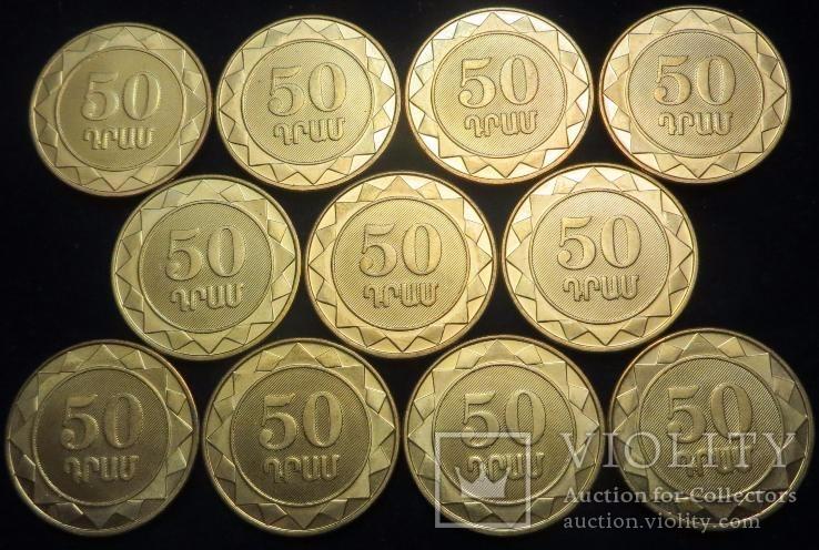 Арменія, набір 11 монет, 2012 рік, фото №3