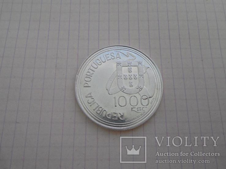 1000 эскудо 1994г Португалия, фото №2