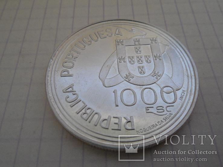 1000 эскудо 1994г Португалия, фото №3