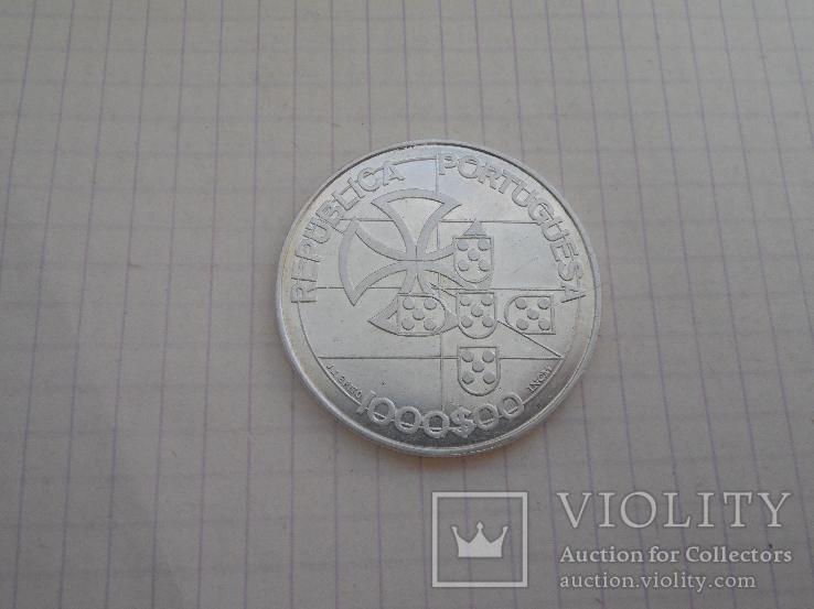 1000 эскудо 1998г Португалия, фото №2