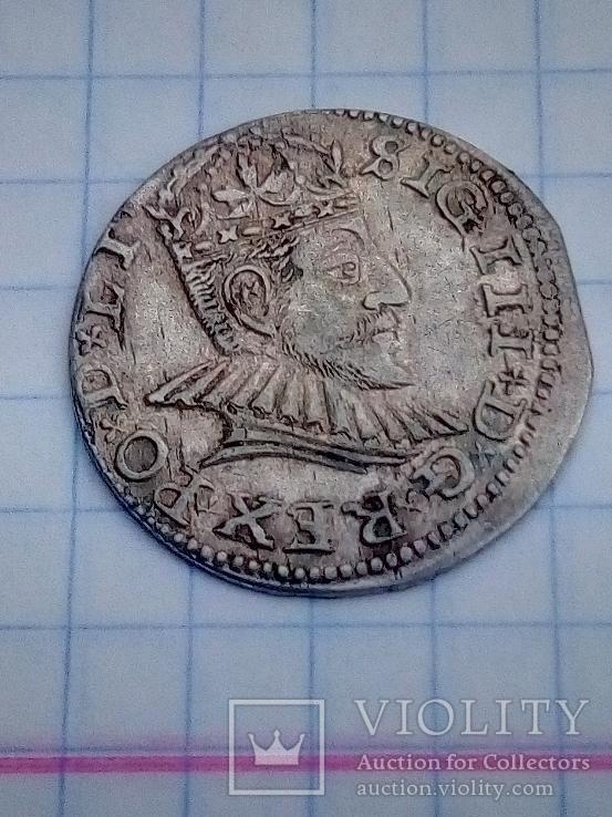 Трояк Zygmunt III Waza 1590