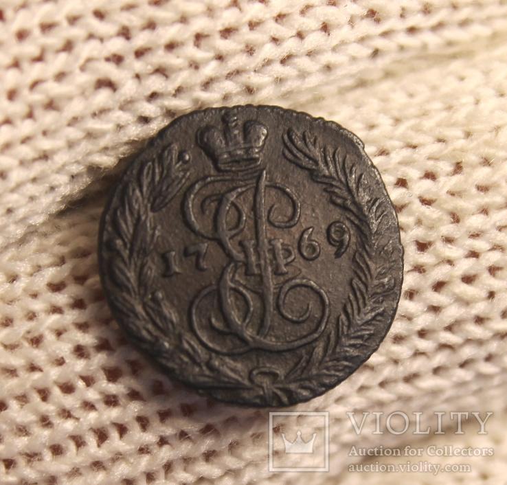 Полушка;1769г.ЕМ.