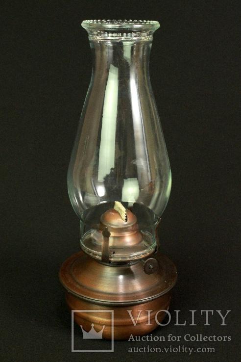 Керосиновая лампа. Винтаж. Европа. (0024)