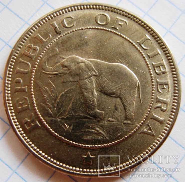 Либерия, 2 цента 1941