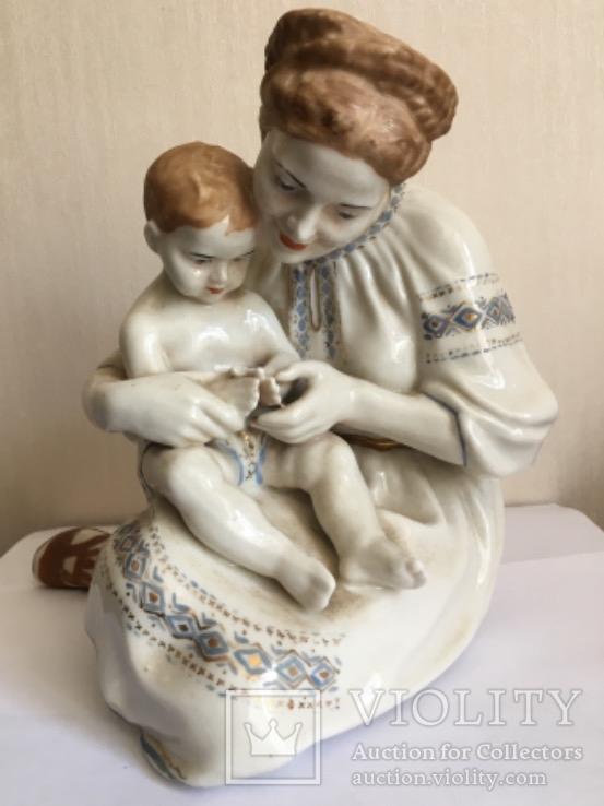 "Мама с ребенком ""Ладушки"" Ольга Рапай"