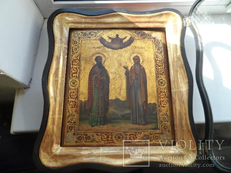 Св.преподобный Василий и Св.мученица Лидия