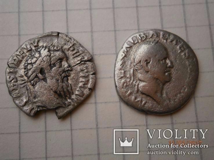 Пертинакс і Гальба Рим динарії