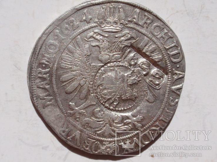 Ефимок-Богемия, Фердинанд II.1624г. ,Пражский монетный двор