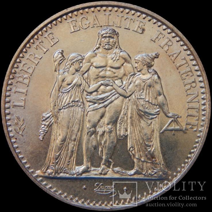 10 франків 1967 року, Франція, Геракл і музи