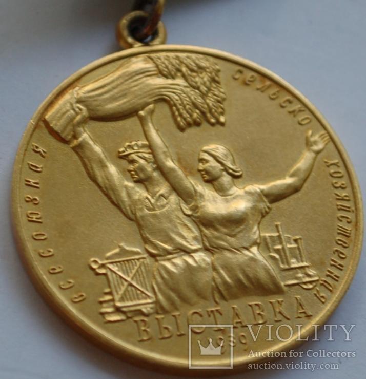 Комплект ВСХВ/ВДНХ: Большая золотая ВСХВ 1939г. + 3 серебро ВСХВ + много других на одного