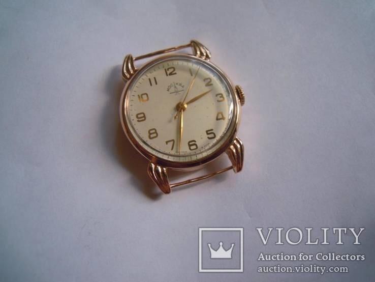 Золотые часы Москва 583 с 1 грн без резерва