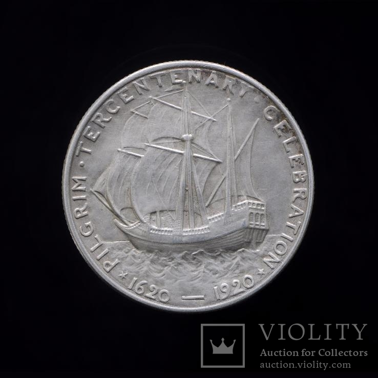 1/2 Доллара 1920 Пилигрим, США