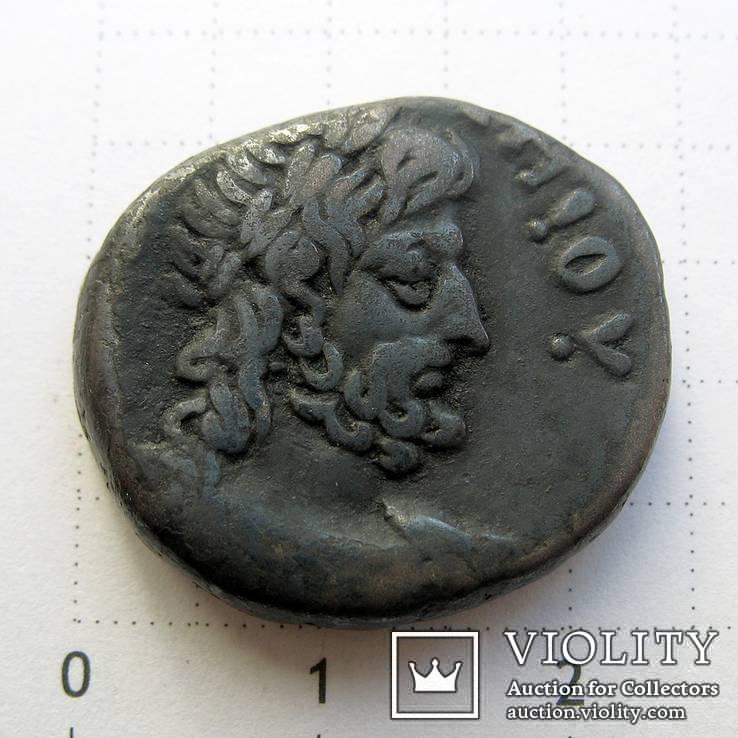 Нерон, тетрадрахма, г. Александрия