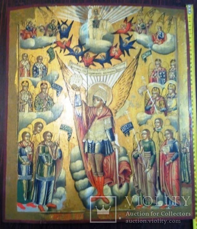 Большая 50х42 древняя икона