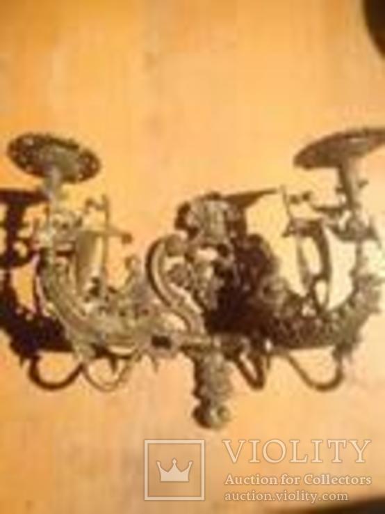 Светильник бра пара 1893 год, фото №4