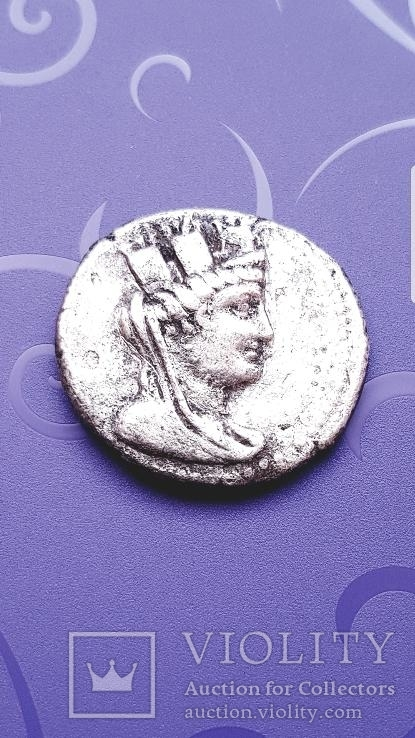 Финикия г. Арадос , ТЕТРАДРАХМА 88 г. ДО Н. Эр.-7г. Н. Э.