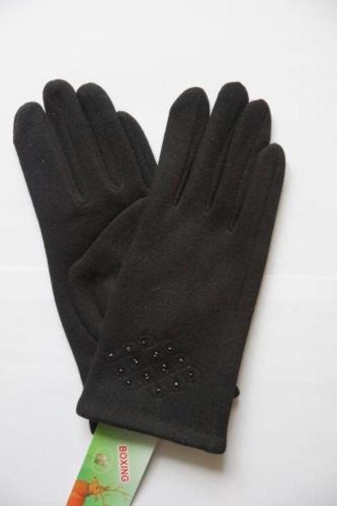 Женские утепленные перчатки.
