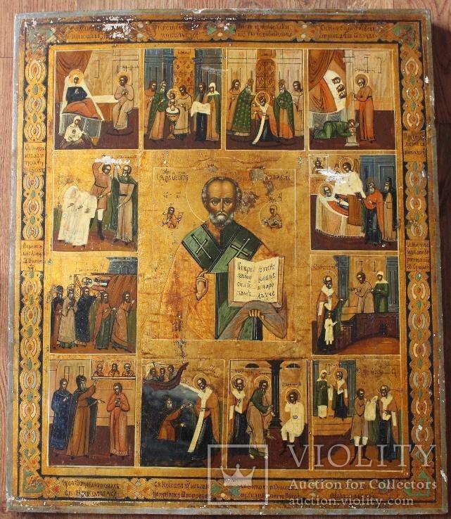 Икона Святой Николай житие