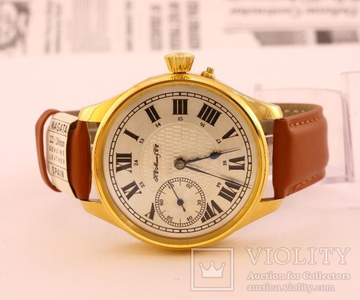 Часы наручные Henry Moser марьяж, клейма серийный номер