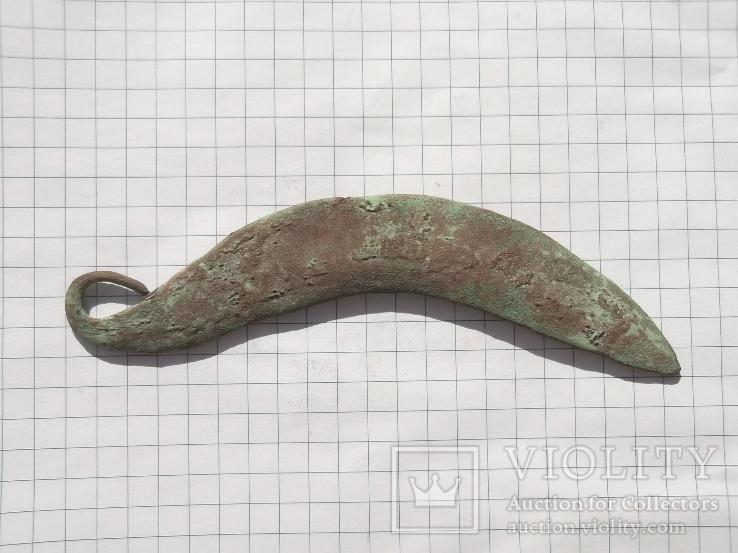 Бронзовый серп,Сосницкая культура 16-14 века до н.э.