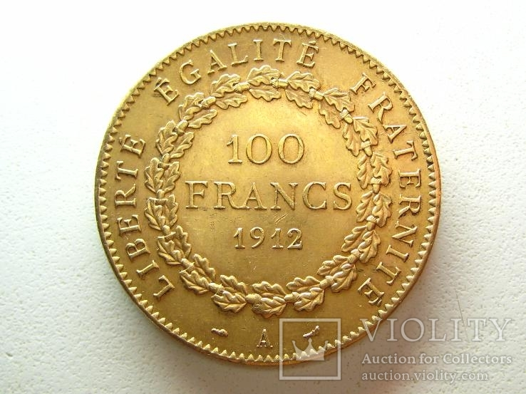 100 франков 1912 г.