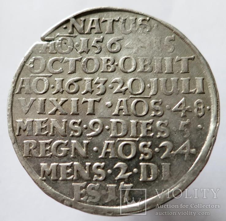 Посмертный талер Генрих Юлий, Брауншвейг-Вольфенбюттель, 1613г..