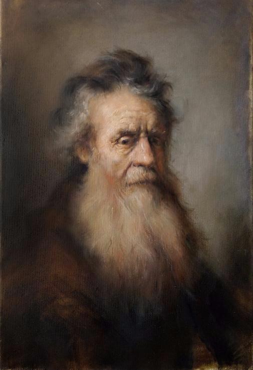 Копия картины Рембрандта