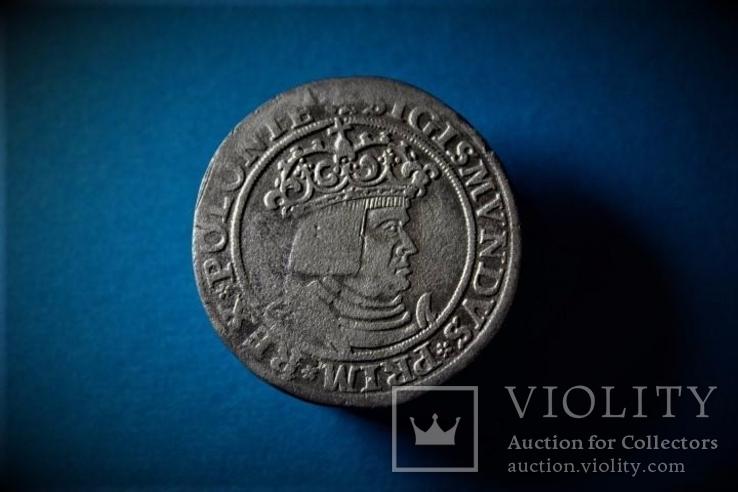 Трояк Сигизмунда 1 1528 год R7