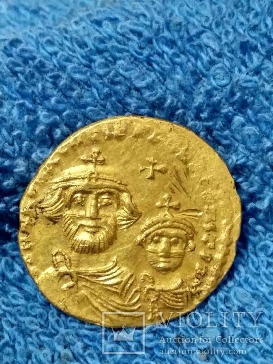 Солид Гераклиус, Константин (610-641гг)  Вес 3.71.
