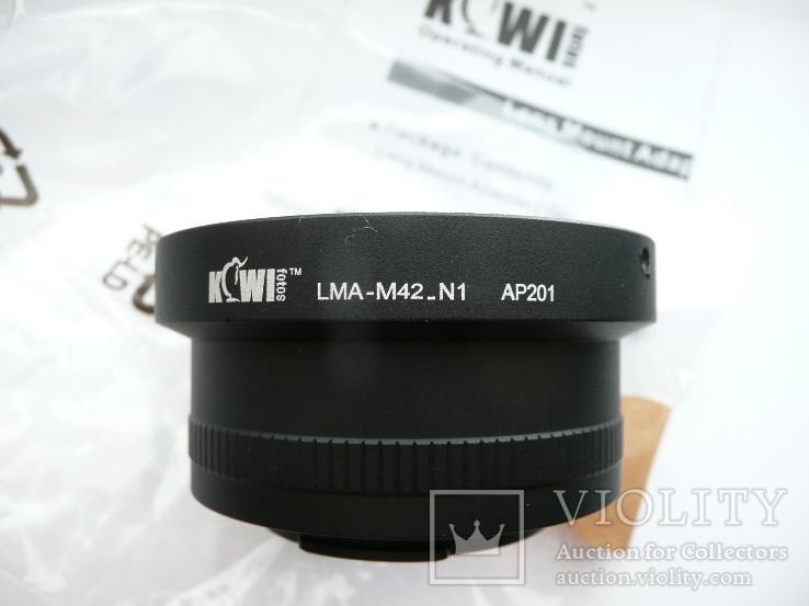 Адаптер KIWIFOTOS LMA-M42 АР201, фото №6