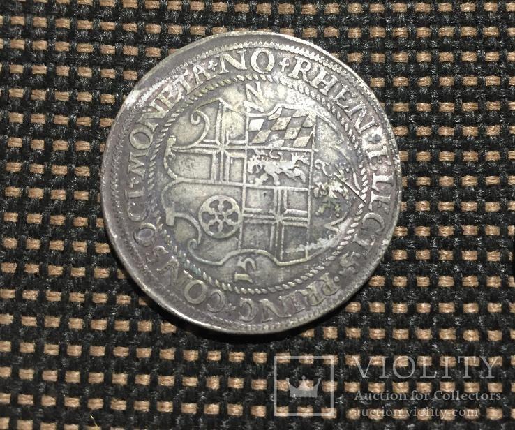 Таллер Пфальц-Зиммерна Курфюста Фридриха III 1572 года
