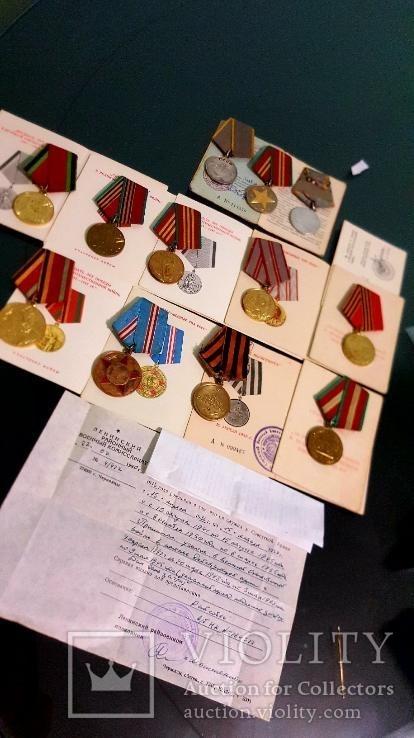 Медали с документами второй мировой, фото №2