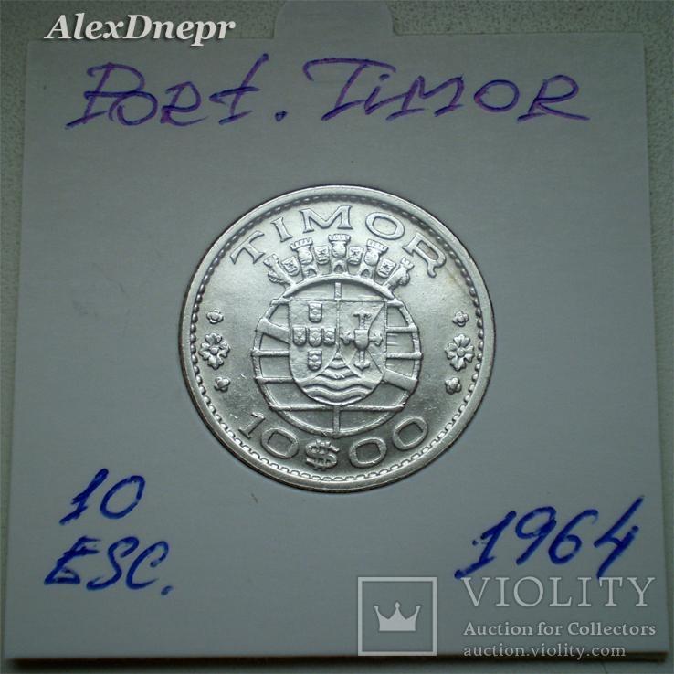 Португальский Тимор, 10 эскудо 1964