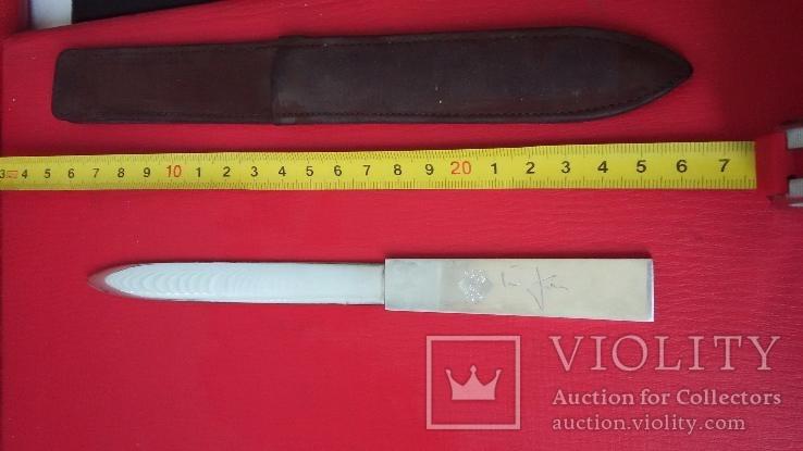 Нож из серебра 925 пробы Германия, фото №6