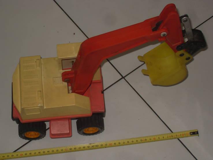 Экскаватор - игрушка  СССР, фото №2