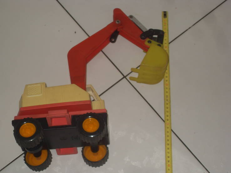 Экскаватор - игрушка  СССР, фото №3
