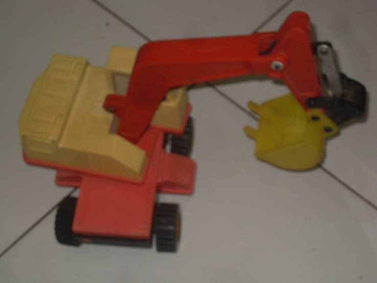 Экскаватор - игрушка  СССР, фото №6