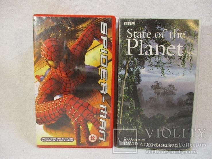 Две видеокассеты (на англ.), фото №2