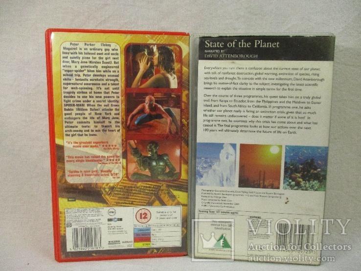 Две видеокассеты (на англ.), фото №3