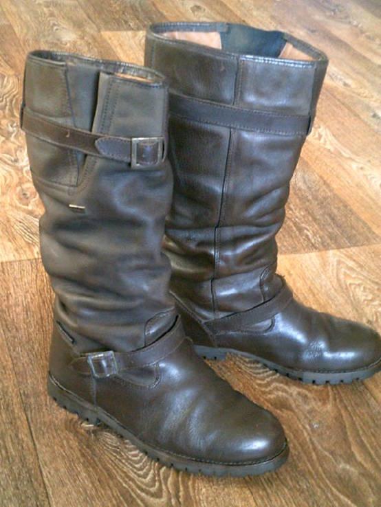 Зимние кожаные сапоги Human Nature waterproof разм.41