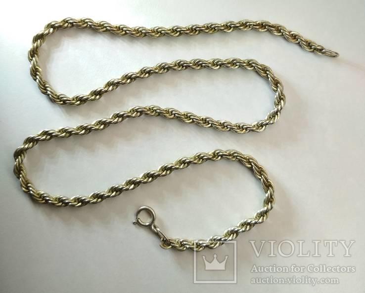 Серебряная цепь., фото №2