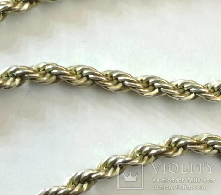 Серебряная цепь., фото №3