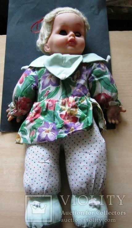 Кукла паричковая 50 см. 1951 г., фото №2