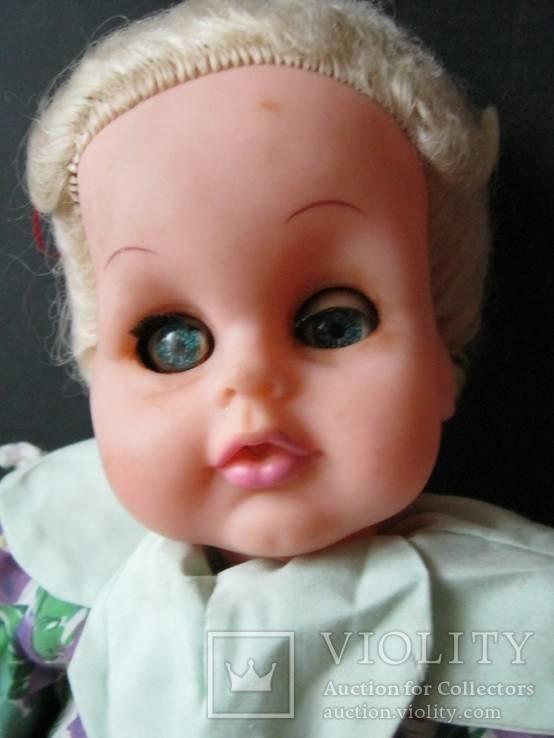 Кукла паричковая 50 см. 1951 г., фото №4