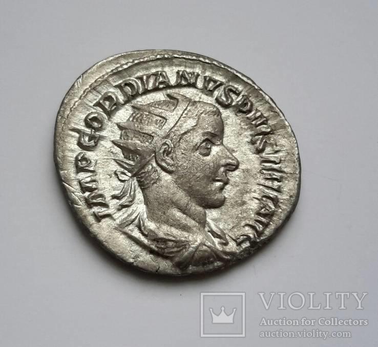 Gordian III., 238-244, AR Antoninian -21 мм