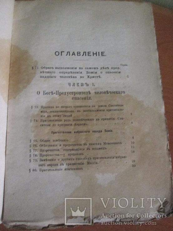 Опыт православного догматического богословия 1897 год., фото №6